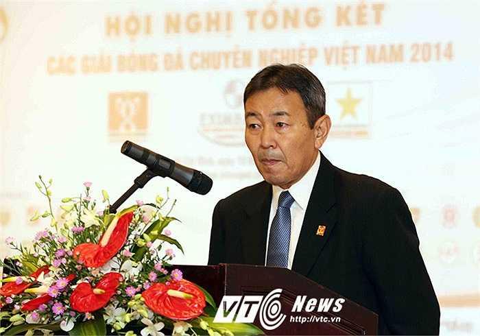 Trưởng giải người Nhật Tanaka Koji