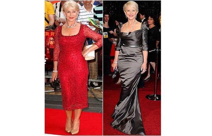 7. Còn đây là nữ diễn viên 68 tuổi Helen Mirren.