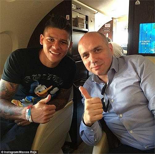 Rojo cho biết: 'Được chơi bóng cho Man Utd là ước mơ của tôi'