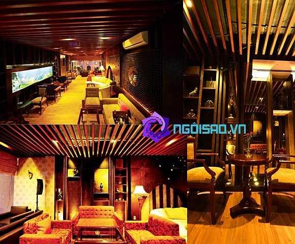 Quán café phong cách Nhật Bản của Mỹ Tâm được thiết kế khá tinh tế và lãng mạn, nhưng cũng không kém cầu kỳ và sang trọng.