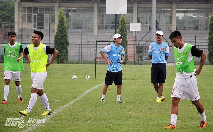 Cường độ tập luyện của U23 Việt Nam được ông thầy người Nhật đẩy lên cao chỉ sau 2 ngày tập trung.