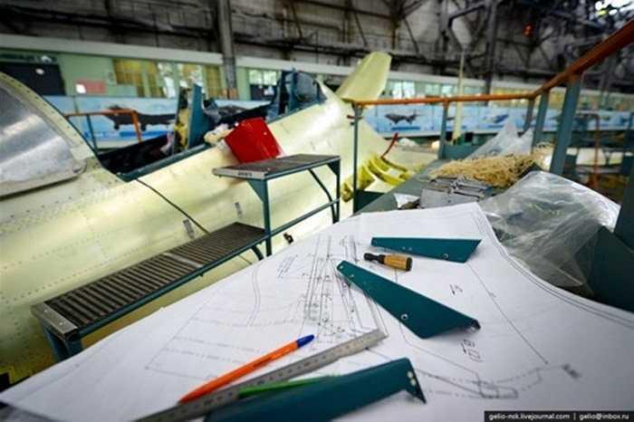 Quá trình lắp ráp Su-30