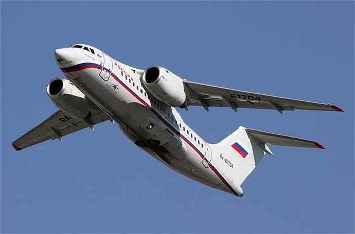 Cận cảnh chuyên cơ An-148 của nhà lãnh đạo Kim Jong-un