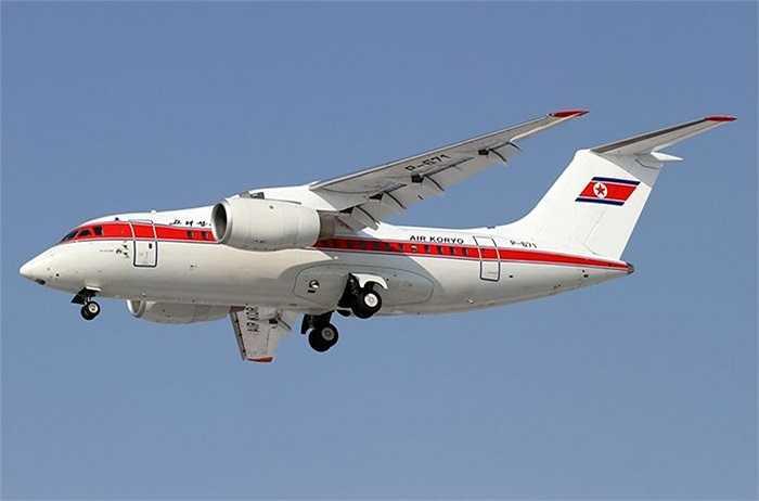 An-148 là máy bay chở khách dân dụng hạng nhẹ do Công ty quốc gia Antonov của Ukraine sản xuất