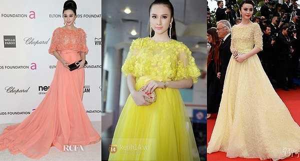 Angela Phương Trinh cũng từng bị ném đá bì sao chép phong cách của Phạm Băng Băng