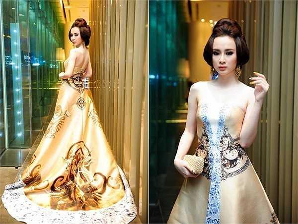 Bởi mỗi lần xuất hiện, Angela Phương Trinh đều thu hút sự chú ý của giới truyền thông và công chúng