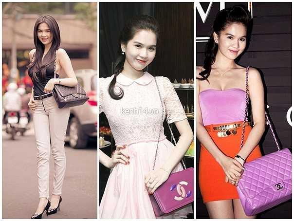 Những mẫu túi Chanel giá lên đến chục triệu, trăm triệu mà cô từng yêu thích ở hai năm trước. Người đẹp sở hữu nhiều màu sắc khác nhau để tiện việc mix trang phục đi kèm.