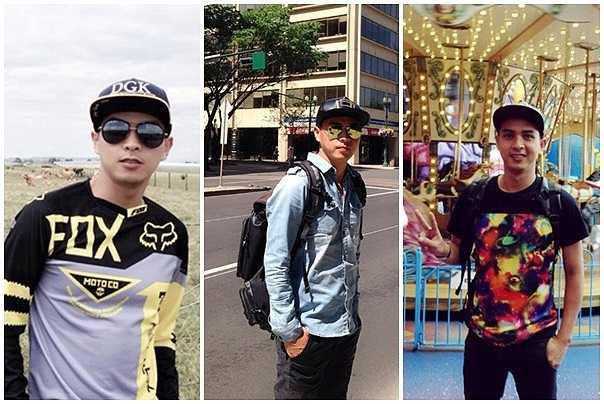 Hồ Quang Hiếu sở hữu ngoại hình ưa nhìn và phong cách thời trang trẻ trung, năng động. Mũ snapback gắn liền với anh trong những chuyến du lịch nước ngoài.