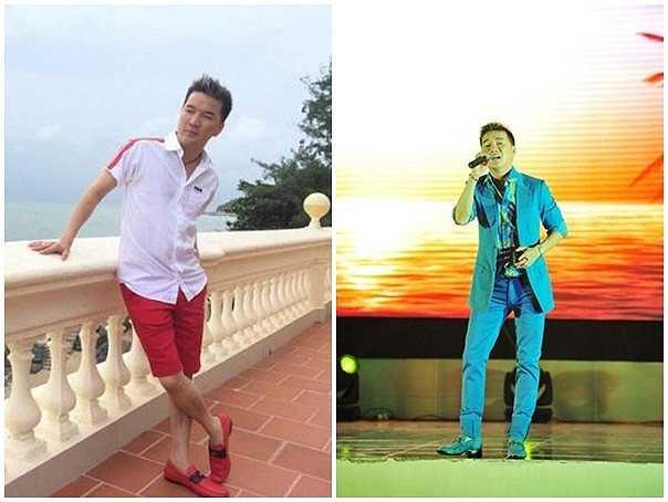 Đàm Vĩnh Hưng rất tự hào khi giới thiệu BST giày khủng của mình. Anh được nhìn nhận là một trong những sao nam mặc đẹp của làng giải trí Việt.