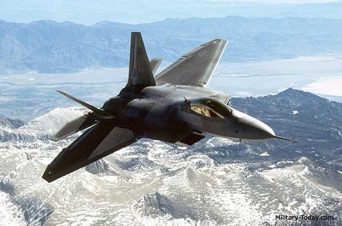 Chiến đấu cơ F-22 Raptor của Mỹ