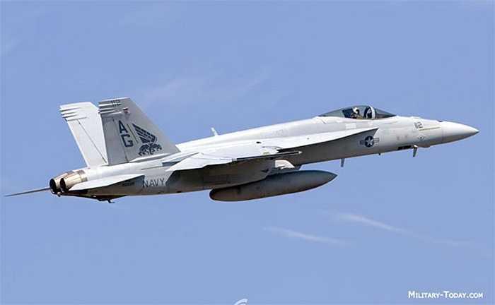 Chiến đấu cơ đa nhiệm siêu thanh F/A-18 Super Hornet