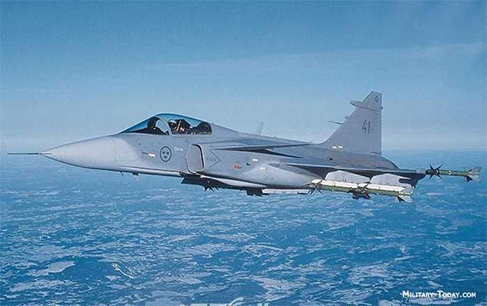 Chiến đấu cơ hạng nhẹ Saab JAS 39 Gripen của Thụy Điển
