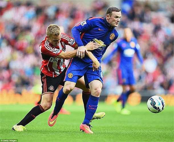 Wayne Rooney dù vẫn thi đấu hết khả năng nhưng vẫn không đủ giúp Man Utd có bộ mặt tốt đẹp hơn.
