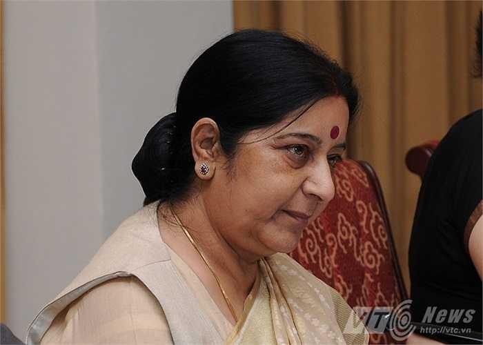 Bộ trưởng Ngoại giao Ấn Độ, bà Sushma Swaraj
