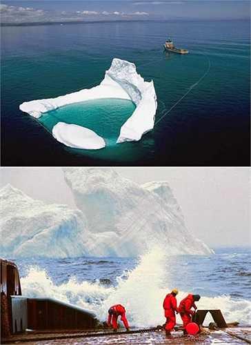 Những người xử lý băng có nhiệm vụ quan sát băng và khi thấy tảng băng nguy hiểm, họ phải kéo chúng ra khỏi khu vực giàn khoan bằng mỏ neo chuyên dụng. Công việc này nhằm giảm thiểu thảm họa chìm tàu như Titanic năm 1912. Họ được gọi là Đội tuần tra băng quốc tế (IIP) và được các công ty dầu thuê trông coi giàn khoan.