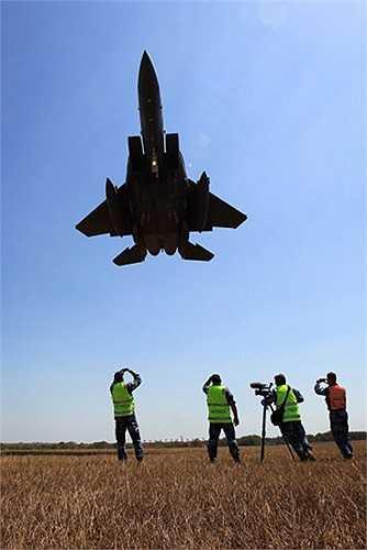 Chiến cơ F-15 của Không quân Singapore