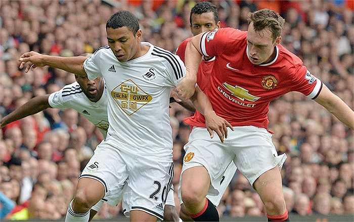 Chia tay khá nhiều ngôi sao nên Swansea mạnh dạn bỏ ra 14,78 triệu bảng trên thị trường chuyển nhượng