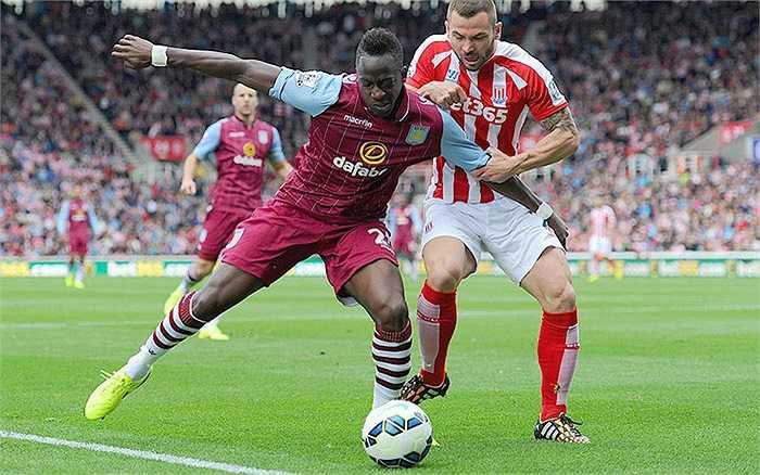 Suýt xuống hạng mùa trước nên Aston Villa mạnh tay bỏ ra 12,18 triệu bảng để chiêu mộ tân binh