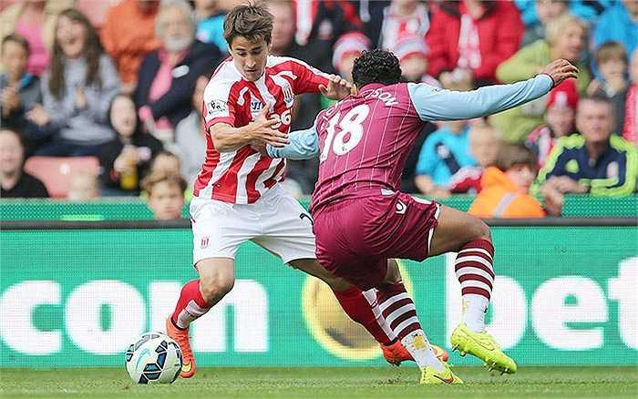 Stoke City móc hầu bao 4,4 triệu bảng cho 5 ngôi sao, trong đó có 3 triệu cho Bojan Krkic