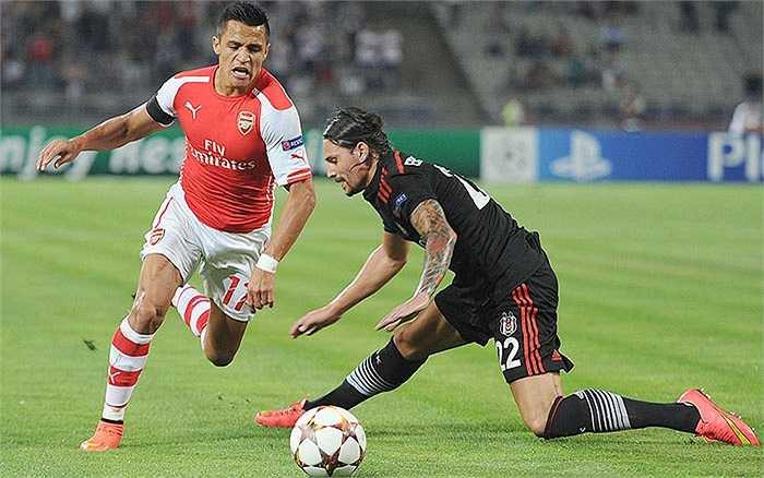 Arsenal tạm đứng thứ 3. Với quả bom tấn Alexis Sanchez, Pháo thủ cán mốc 67,8 triệu bảng