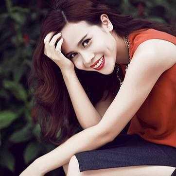 Lưu Hương Giang xinh đẹp trong bức ảnh mới.