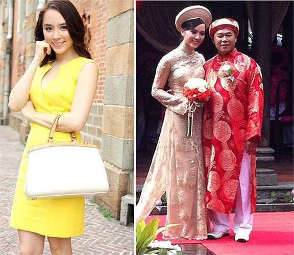 Thiên Lý lấy chồng vào tháng 8/2011, lúc cô 22 tuổi. Chồng Thiên Lý khi đó là doanh nhân Nguyễn Quốc Toàn - hơn cô 21 tuổi.
