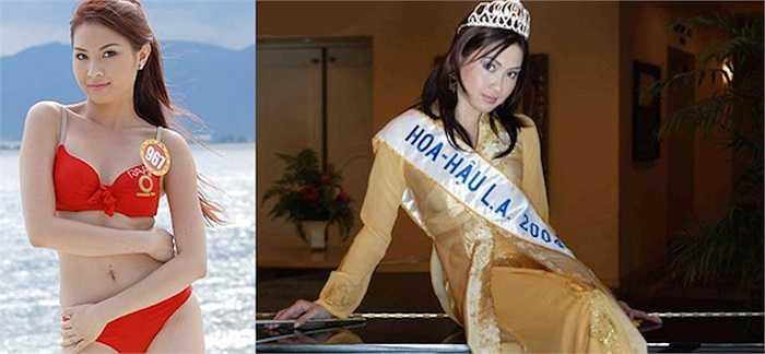 Người đẹp Nguyễn Cao Thu Vân (sinh năm 1986) vốn có bề dày thành tích và kinh nghiệm tại các cuộc thi nhan sắc.