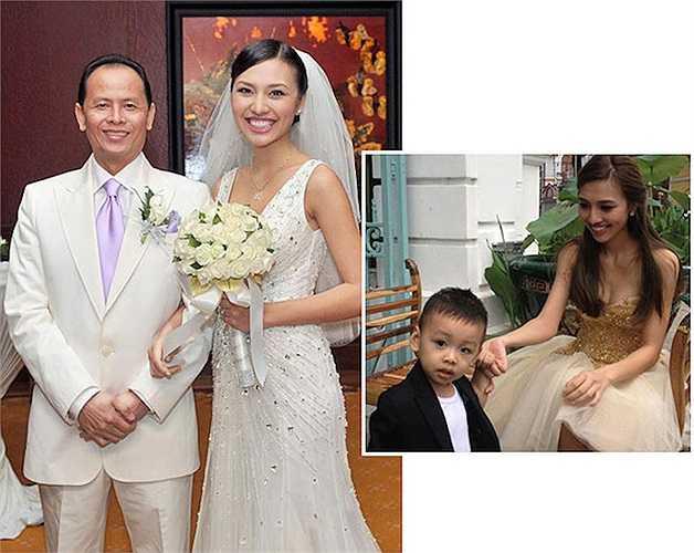 Sau khi kết hôn, Huỳnh Thanh Tuyền gần như 'biến mất' khỏi showbiz. Cô ở nhà chăm hai con trai cho người chồng giàu có và quyền lực là giám đốc công ty Cát Tiên Sa.
