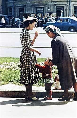 Khung cảnh của Matxcơva những năm 1960