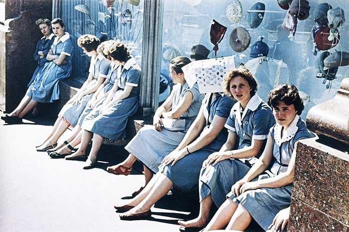 Các thiếu nữ Liên Xô những năm 1960