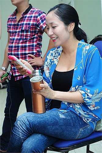 Hiện dù đang mang bầu, cô vẫn đảm nhận vai trò MC của Đồ Rê Mí và giám khảo chương trình Bước nhảy hoàn vũ nhí. Ốc chia sẻ chuyện bầu bí không ảnh hưởng nhiều tới công việc vì cả hai chương trình đều khép lại vào tháng 9 tới.