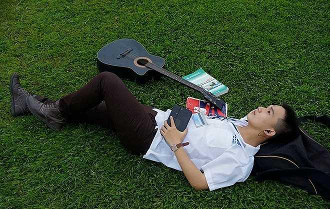 Hùynh Tuấn Anh - một nam sinh Bách khoa rất lãng mạn.