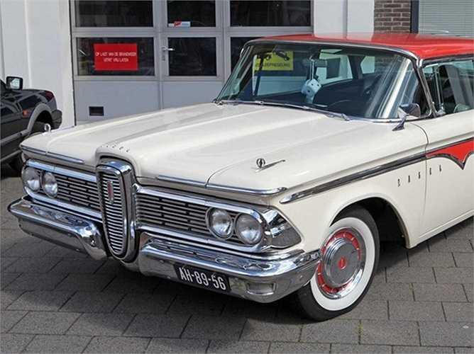 Ford Edsel – 1957: Cái tên 'Edsel' đồng nghĩa với 'tiếp thị thất bại'. Ford đã đầu tư 400 triệu USD vào chiếc ô tô Ford Edsel được giới thiệu năm 1957 và đưa ra thị trường năm 1960. Tuy nhiên, người Mỹ đã không ưa chuộng sản phẩm này bởi họ muốn có 'phương tiện nhỏ hơn, kinh tế hơn'.
