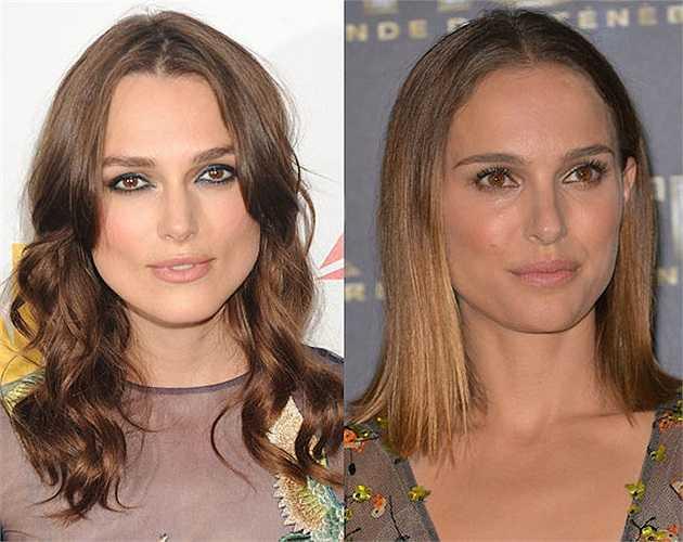 Không ít người nhận ra sự giống nhau của Keira Knightley và Natalie Portman