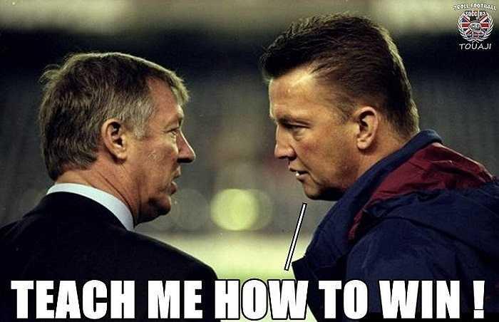 Và ông cũng đã hỏi Sir Alex làm cách nào để chiến thắng.