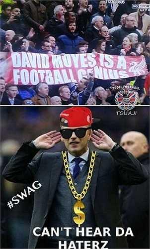 David Moyes có lý do để chỉ trích lại những ai đã chống đối, dè bỉu tài năng của ông.