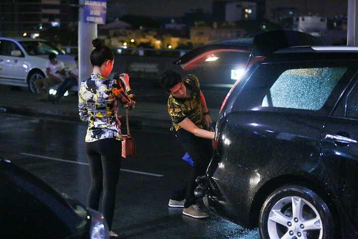 Nằm trong khuôn khổ liên hoan phim quốc tế Gwangju lần thứ 14, bộ đôi trên màn ảnh rộng Hoàng Thùy Linh và Harry Lu cũng như đoàn phim Thần tượng vừa lên đường sang Hàn Quốc