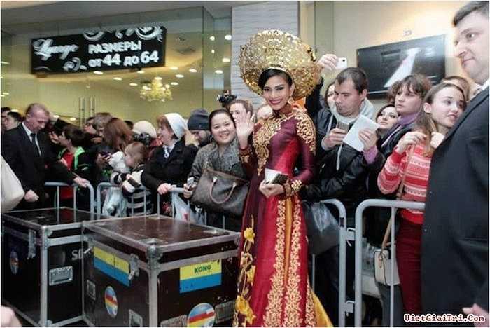 Dù không đạt được kết quả gì đáng kể tại cuộc thi, Trương Thị May cũng ghi dấu trong lòng khán giả nước nhà và thế giới về một người con gái Việt Nam vẹn toàn cả hương và sắc.