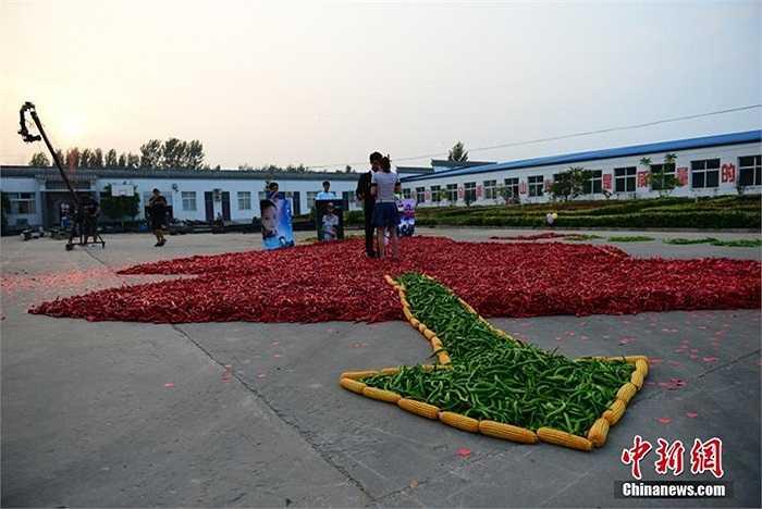 Chàng trai ở huyện Hàm Đan, tỉnh Hà Bắc, Trung Quốc gây chú ý với màn cầu hôn có một không hai