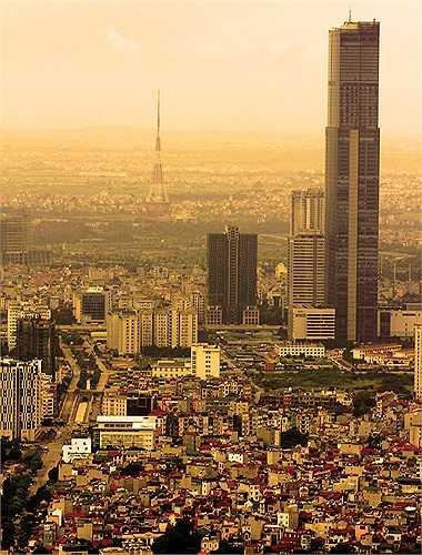 Keangnam Hanoi Landmark Tower - tòa nhà cao nhất Việt Nam (Cao hơn Lotte Center Hanoi 83m)