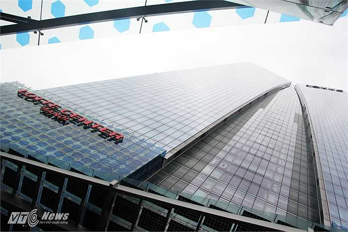 Lotte Center Hanoi được xây dựng trên diện tích 14.094m2, trong đó 247.075 m2 mặt sàn. Tòa nhà có 5 tầng hầm, 65 tầng bên trên với tổng chiều cao 267m.