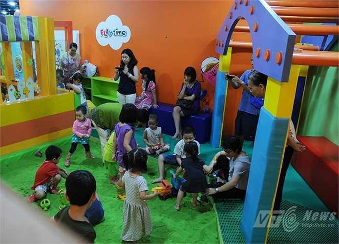 Trẻ em cũng có chỗ để thỏa mãn đam mê vào dịp nghỉ lễ kéo dài tới 4 ngày