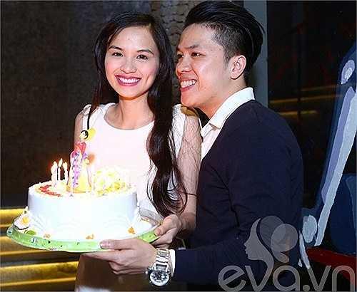 Không muốn bị chú ý quá nhiều, Diễm Hương thường từ chối chụp hình chung với bạn trai.