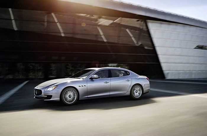 Maserati, thương hiệu xe Italy cũng có 84% khách hàng nam giới, các mẫu xe nổi tiếng của hãng như Ghibli, Gran Turismo, hay Quattro Porte.