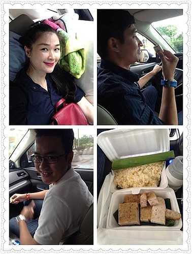 Huy Khánh - MC của chương trình 'Cuộc đua kỳ thú' đưa vợ về thăm quê trong dịp Quốc khánh 2/9.