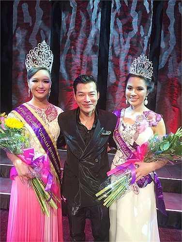Victoria Thúy Vy vừa đăng quang ngôi Hoa hậu cuộc thi Miss Globe Vietnam 2014.