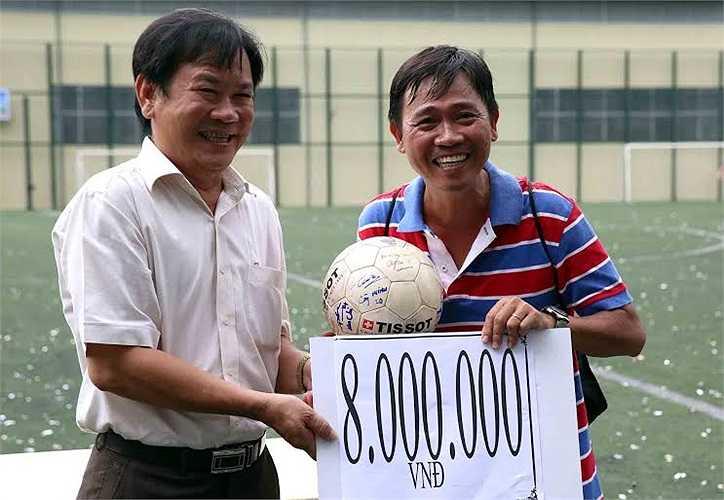 Nhà báo Nguyễn Nguyên và món tiền ủng hộ
