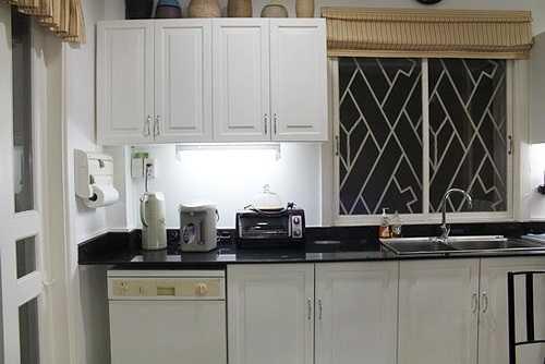 Một góc nhà bếp sạch đẹp.