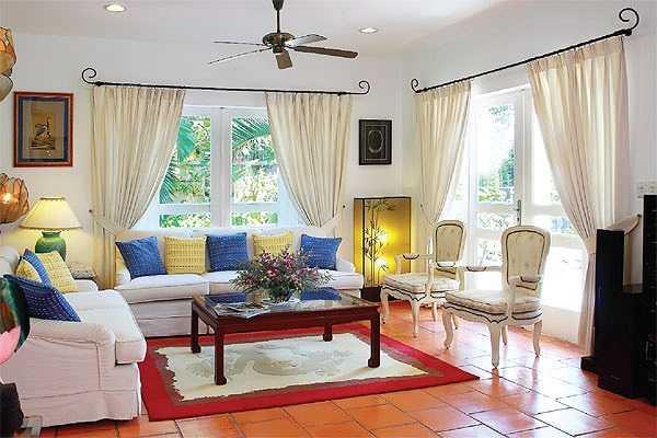 Phòng khách đẹp giản dị mà hút hồn
