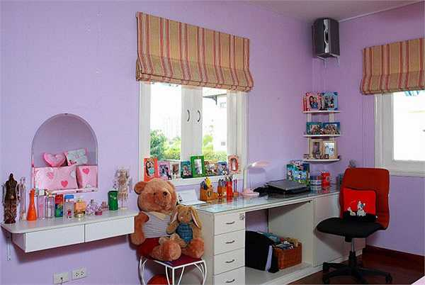 Các căn phòng trong ngôi nhà đều được thiết kế theo tính cách của từng thành viên trong gia đình